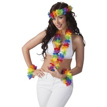 Rainbow hawaii set