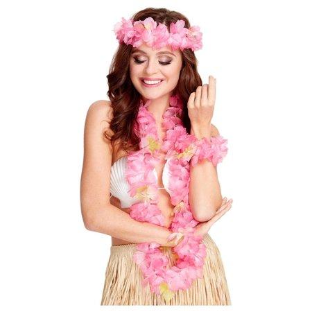 Hawaii verkleedset pink