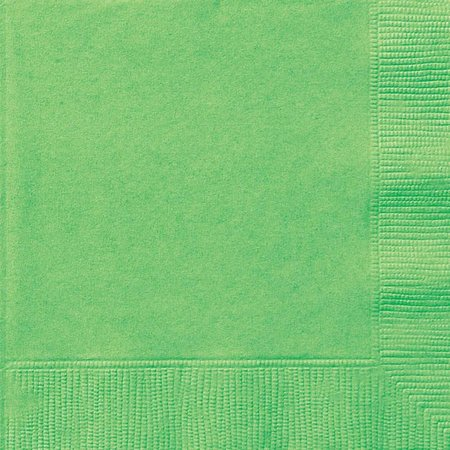 Lime Groen servetten 20 stuks