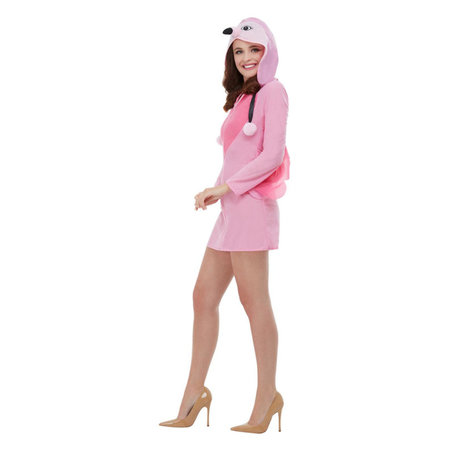 Flamingo jurkje vrouw