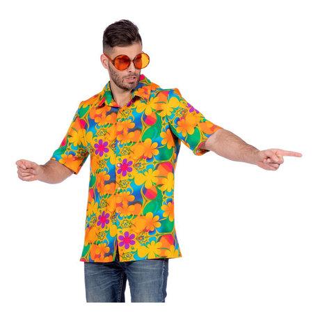 Tropische blouse bloemen