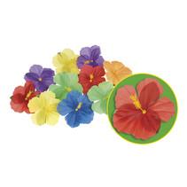 Hawaii Decoratie Bloemen Set (24 stuks)