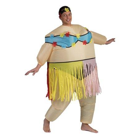 Opblaasbaar kostuum Hawaii