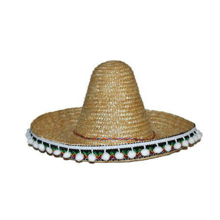 Mexicaanse sombrero kind naturel