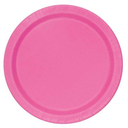 Bordjes Pink 20 Stuks - 18 cm