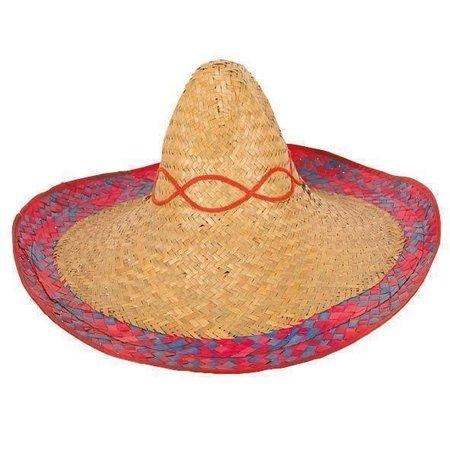 Sombrero Mexico Gekleurde Rand