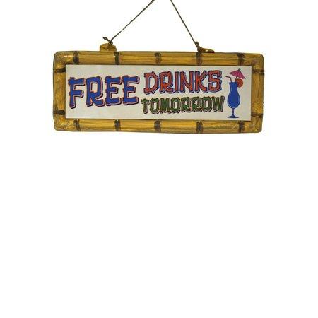 Hangbord Free Drinks