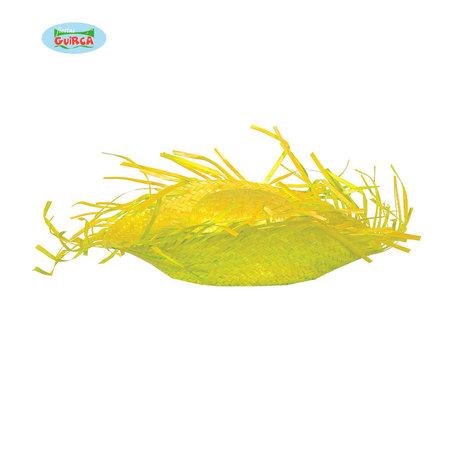 Strohoed Hawaii geel