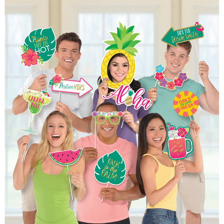 Photo Booth Kit Aloha Jumbo
