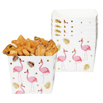 Set 6 Bakjes Flamingo (40 cl)