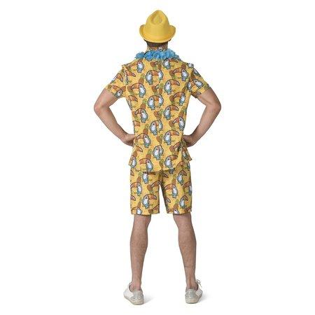 Tropische Toekan kostuum heren