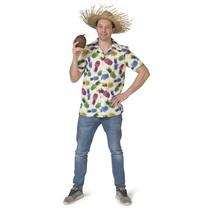 Tropische Ananas blouse Hawaii