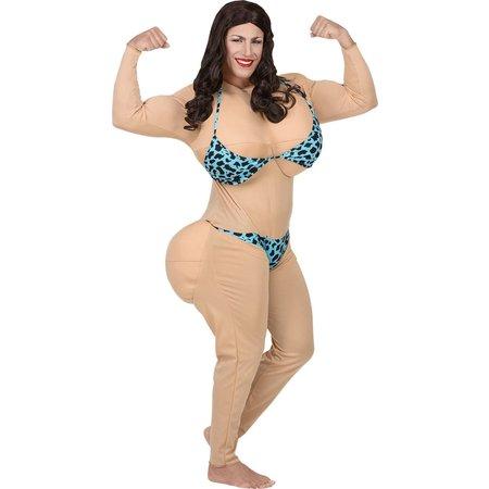 Miss Bikini Dikmaak Kostuum