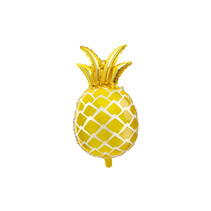 Folieballon metallic Ananas