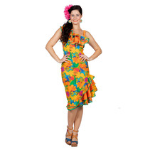 Jurk Hawaii Bloemen Dames