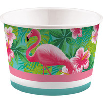 IJsbekers Flamingo Tropical - 8 Stuks