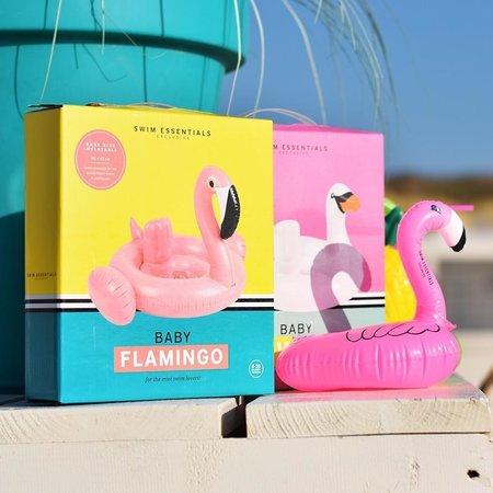 Roze Opblaas Flamingo Bekerhouder