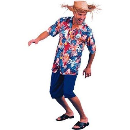 Hawaii kostuum man 3-delig