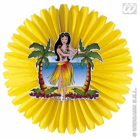 Hawaii decoratie papier dame