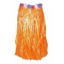 Hawaii rok oranje 80 cm