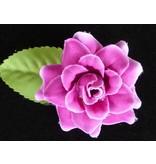 Haarbloem roosje