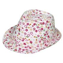 Caribbean hoed roze bloemen