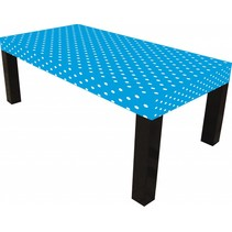 Party Tafelkleed Stof blauw