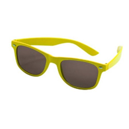 Tropical partybril geel