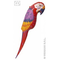 Opblaasbare papegaai 110 cm