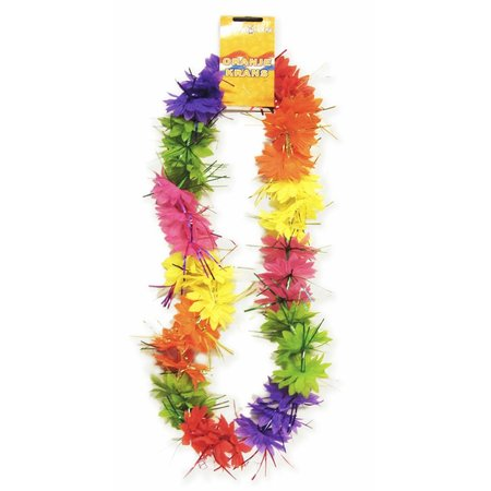 Tropical Hawaiikrans met tinsels