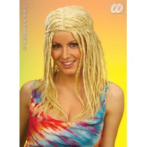 Pruik Jamaica met dreadlocks blond