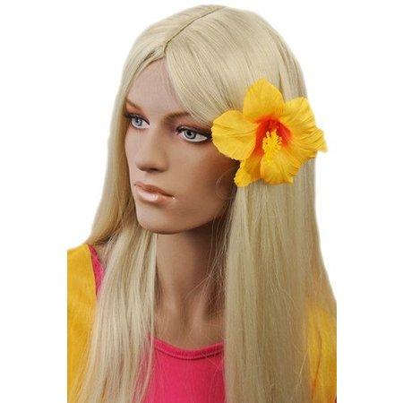Hawaii haarbloem Geel