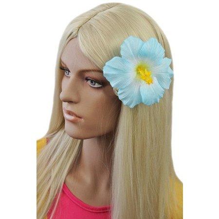 Hawaii haarbloem Blauw