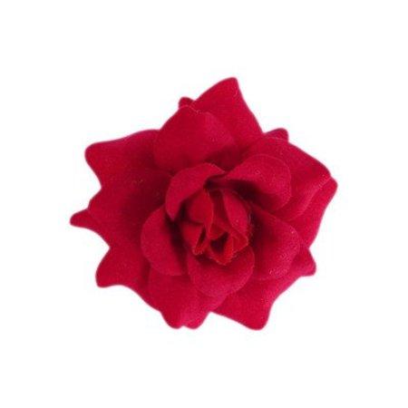 Haarbloem Roosje Rood