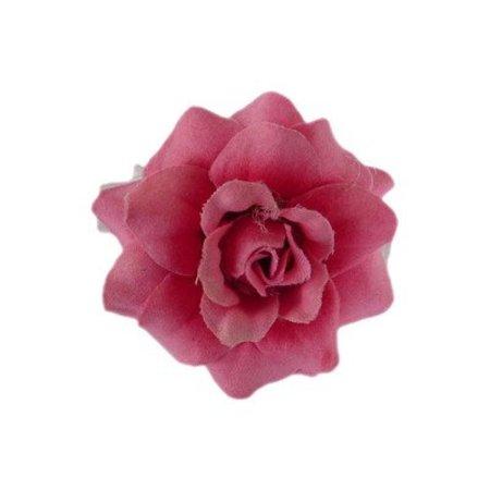 Haarbloem Roosje Roze
