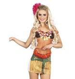 Foto Realistisch shirt Hawaiiaanse dame