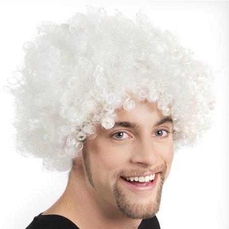 Afropruik wit