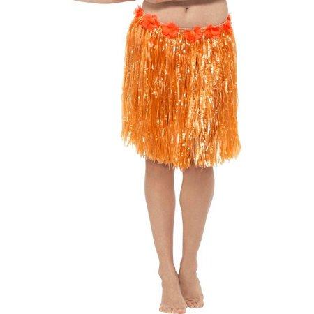 Tropical rokje neon oranje