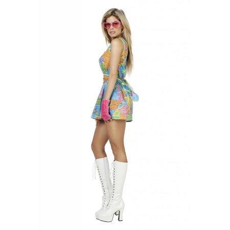 Sexy Wereldkaart jurkje