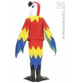 Papegaai kostuum kind