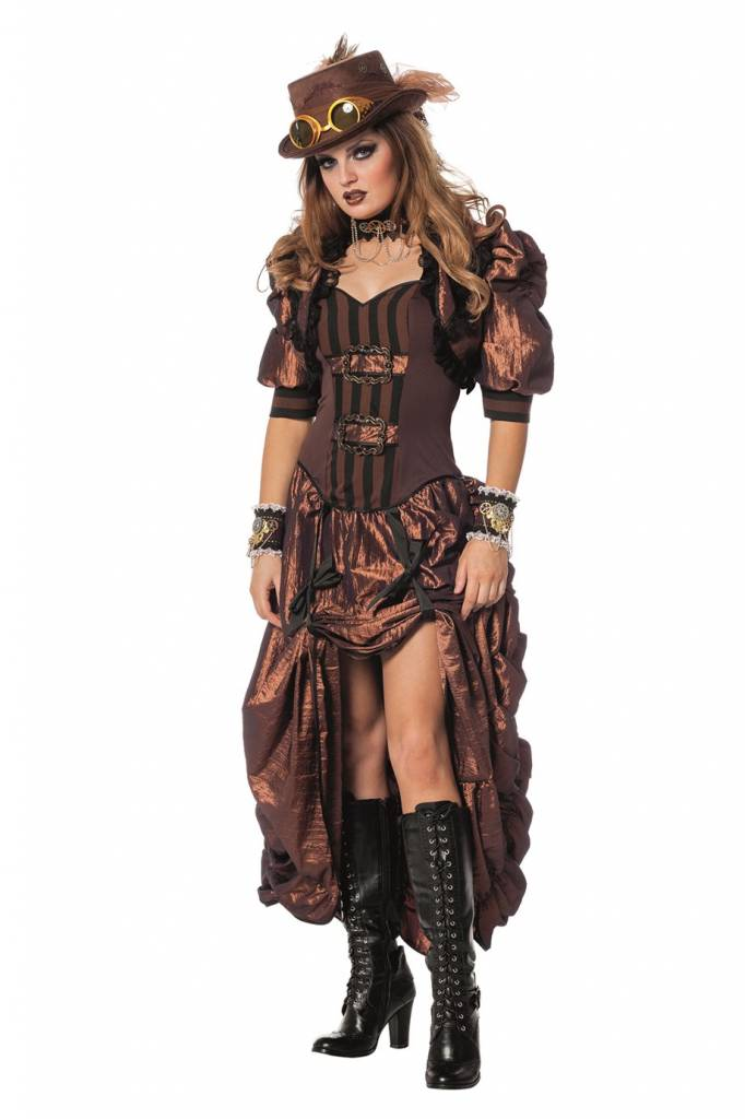 Steampunk Outfit kopen? Laaggeprijsd en snel bezorgd!
