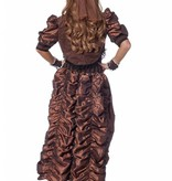 Steampunk outfit dames luxe