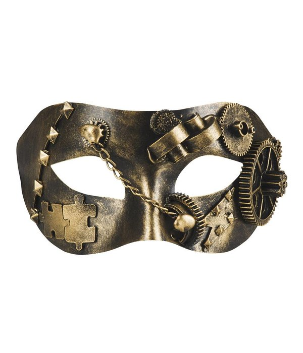 Oogmasker Steampunk rotismo