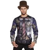 Mr. Steampunk t-shirt fotorealistisch