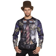 Mr. Steampunk t-shirt fotorealistisch