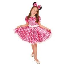 Minnie mouse kostuum kind roze