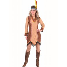 Indiaanse jurk lange mouw