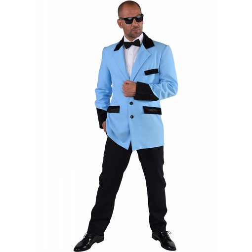 Rock 'n roll jas turquoise