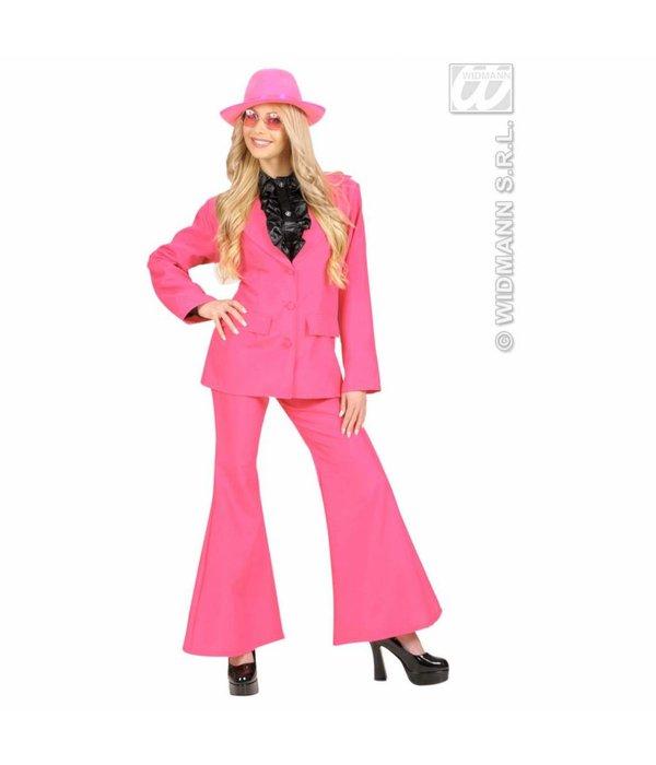 Party kostuum neon roze dames
