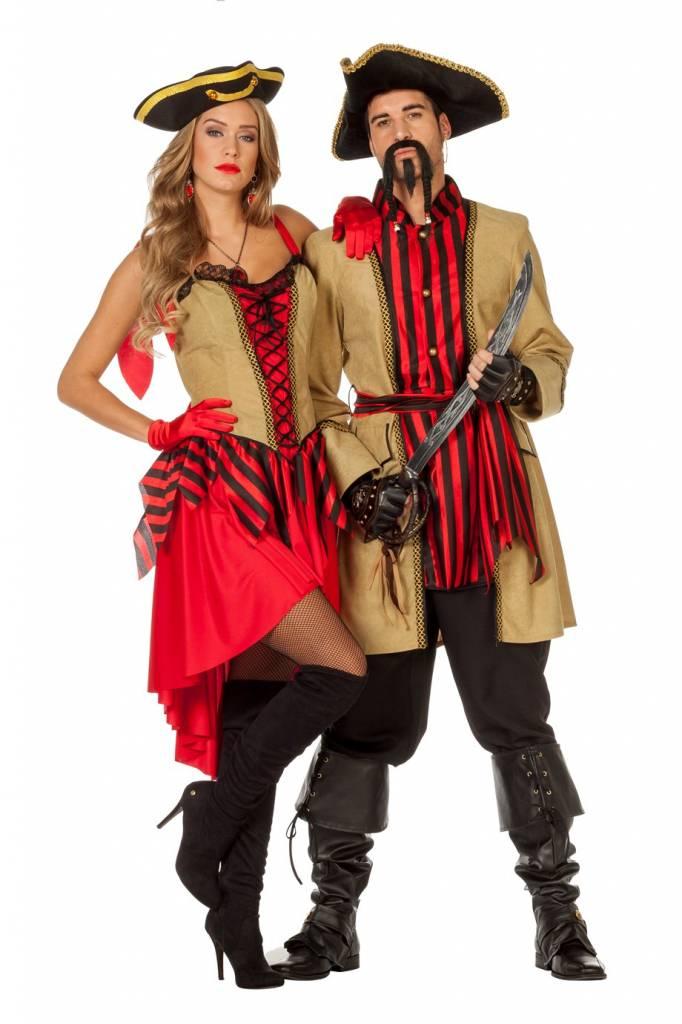 Jurk Pirate carnaval morgan